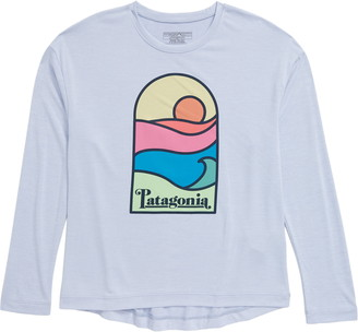 Patagonia Capilene(R) Cool Daily Long Sleeve Graphic Tee