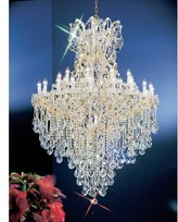 3.1 Phillip Lim House Of Hampton Gregson Light Candle Style Empire Chandelier House of Hampton Crystal Type: Crystalique, Finish: Olde World Gold