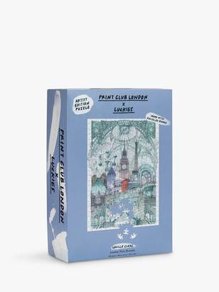 Luckies London, Paris, Brussels Jigsaw Puzzle, 500 Pieces