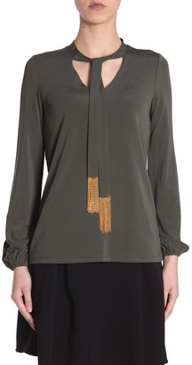Michael Kors Michael By michael by blouse with chain detail