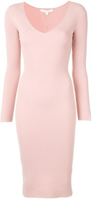 Jonathan Simkhai Ribbed Knit Midi Dress