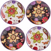 Certified International Coloratura 4-pc. Salad Plate