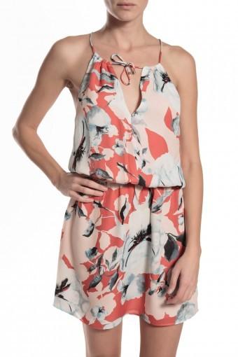 Parker Fleur Dress - Strawberry