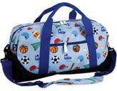 Olive Kids Game On Duffle Bag in Blue