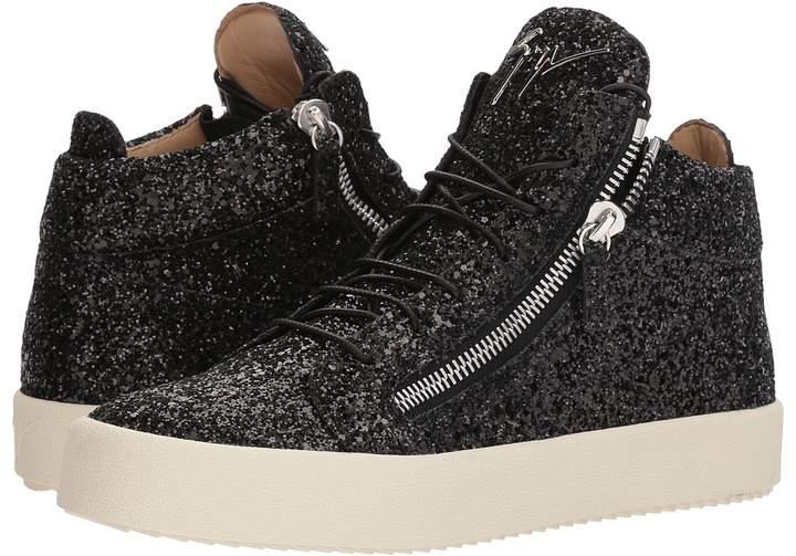 Giuseppe Zanotti May London Glitter High Top Sneaker Men's Shoes