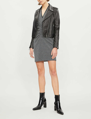 Pinko Tenaglia leather jacket