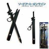 Whatabeautifullife VIP - New Anime Sword Art Online Kirito Sword with Sheath Key Chain