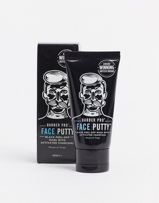 Barber Pro Face Putty Peel Off Mask Tube 40ml