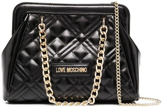 Love Moschino Quilted Mini Logo Bag