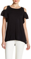 Joseph A Cold Shoulder Tee