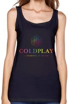 C & S Cold Play A Head Full Of Dreams Tour Ladies Summer Sleeveless Top