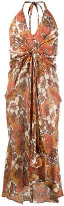 Dodo Bar Or Floral Flared Dress