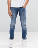 Esprit Skinny Fit Jeans in Vintage Wash