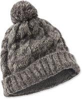 L.L. Bean Chunky-Knit Pom Hat