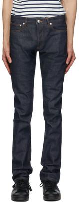A.P.C. Blue Petit Standard Jeans
