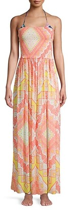 Ramy Brook Calista Print Maxi Dress