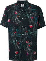 Paul Smith printed shortsleeved shirt - men - Cotton/Linen/Flax - XS