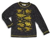 Petit Lem Toddler's & Little Boy's Space Ships Graphic Tee