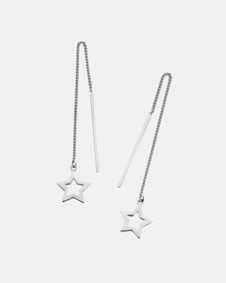 Karen Walker Star Thread Earrings