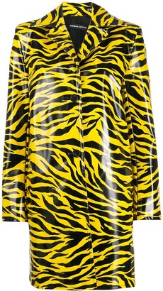 Kwaidan Editions Tiger Print Car Coat