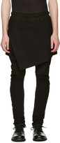 Julius Black Indirect Combination Trousers