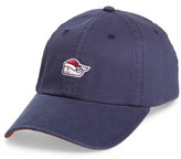 Vineyard Vines Men's Santa Whale Ball Cap - Blue