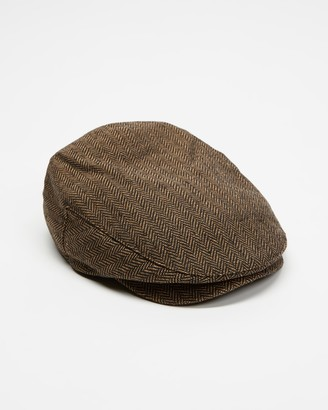 Brixton Brown Caps - Hooligan Snap Cap - Size S at The Iconic