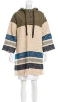 Sea Silk & Wool-Blend Pullover Jacket w/ Tags
