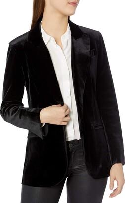 Norma Kamali Women's Single Breasted Jacket Bl