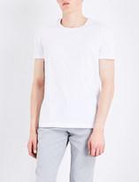 HUGO BOSS Marl cotton-jersey T-shirt