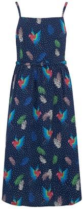 Sugarhill Brighton Tallulah Paradise Parrot Sundress