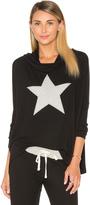 Sundry Star Drapey Pullover