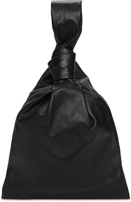 Bottega Veneta Twist Smooth Leather Clutch