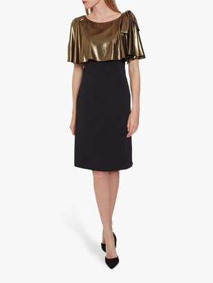 Gina Bacconi Amari Crepe Dress