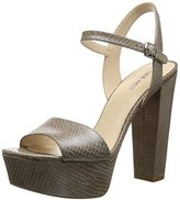 Nine West Women's Carnation Leather Platform Pump