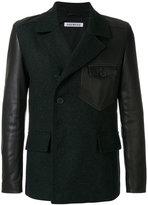 Dirk Bikkembergs panelled tailored jacket