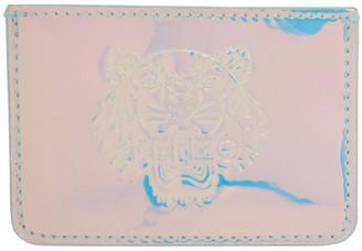 Kenzo Silver Preppy Card Holder