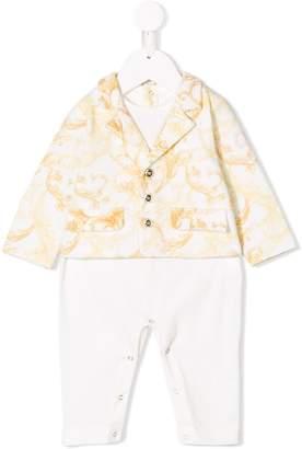 Versace baroque blazer design babygrow