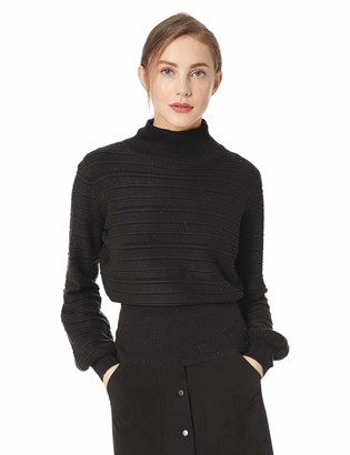 The Fifth Label Women's FERVOUR Turtleneck Ribbed Knit Oversized Sweater