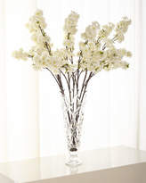 John-Richard Collection John Richard Collection Cherry Blossom Florals in Glass Vase