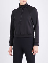 Koral Order high-neck stretch-scuba sweatshirt