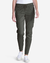 Eddie Bauer Women's Kick Back Twill Jogger Pants
