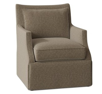 Fairfield Chair Holly Swivel Armchair Body Fabric: 9177 Avocado, Motion Type: Swivel