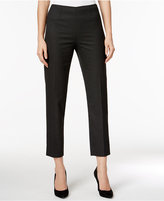 Tommy Hilfiger Cropped Dot-Print Trousers