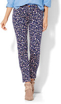 New York & Co. Soho Jeans - SuperStretch Legging - Ditsy Floral