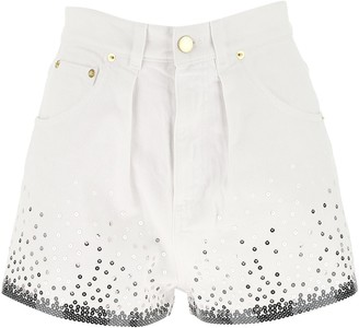 Alberta Ferretti Sequins Detail Shorts