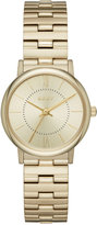 DKNY Women's Willoughby Gold-Tone Stainless Steel Bracelet Watch 28mm NY2548