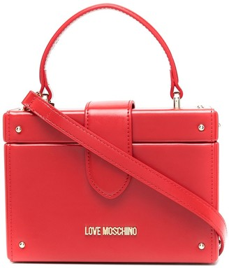 Love Moschino Top-Handle Box Bag