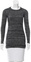Sandro Wool-Blend Crew Neck Sweater s