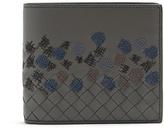Bottega Veneta Intrecciato circle-stitched leather wallet